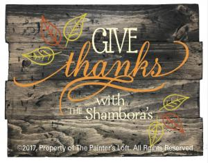 Give Thanks Design A