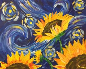 Starry SunFlower