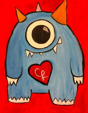 The Blue Monster