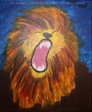 The Roaring Lion copy