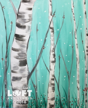 The birch tree 3