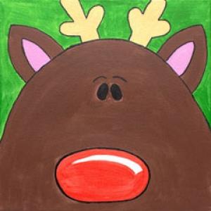 design a reindeer
