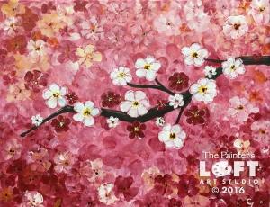 red cherry branch